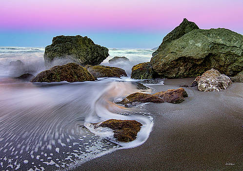 Gentle Waves by Leland D Howard