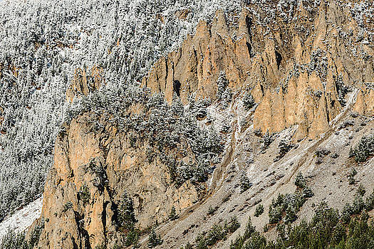 Geological formations - 2 - French Alps by Paul MAURICE