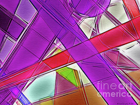 Geometric Crystalline No2 - AMCG20190509 by Michael Geraghty