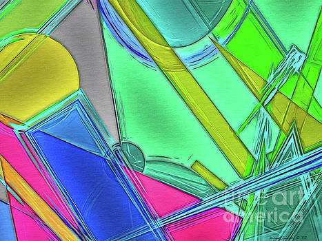 Geometric Crystalline No4 - AMCG20190510 by Michael Geraghty