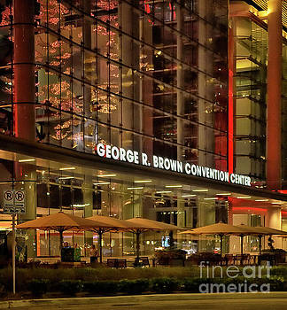 George R Brown Convention Center by Norman Gabitzsch