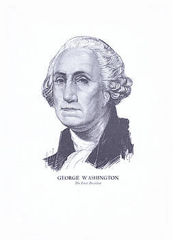 George Washington, The First President by Zal Latzkovich