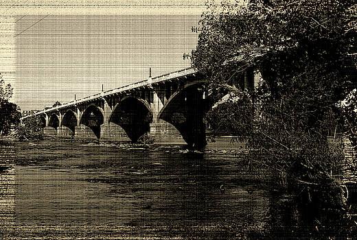 Gervais Street Bridge 2014 Vintage 1 by Joseph C Hinson