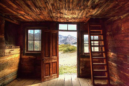 Ghost Town Cabin by Jim Allsopp
