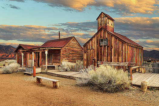 Ghost Town Out West by James Eddy