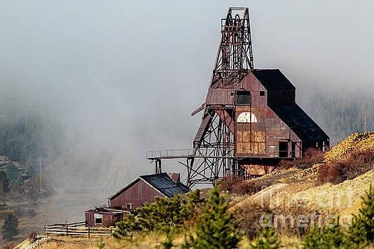 Ghostly Abandoned Mine by Steve Krull