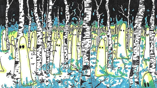 Ghosts in the Birch Forest by Walter Johndad