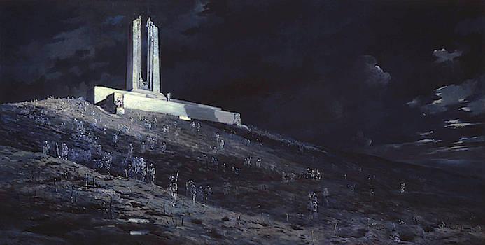 Ghosts Of Vimy Ridge by Will Longstaff