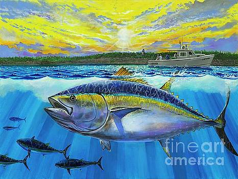 Giant Bluefin Tuna  by Carey Chen
