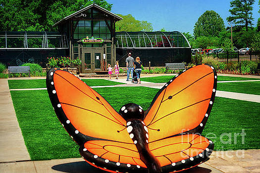 Giant Butterfly by Tamyra Ayles