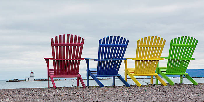 Giant Chairs with a View by Jurgen Lorenzen