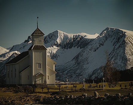 Gimsoy Church Lofoten by Kai Mueller