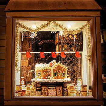 Kristia Adams - Gingerbread Holiday Window