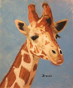 Giraffe by Brenda Maas
