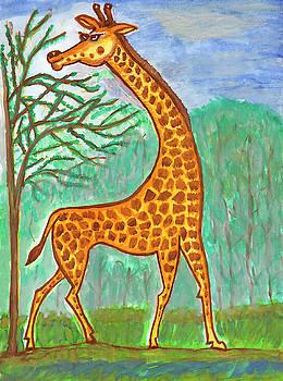 Giraffe by Dobrotsvet Art
