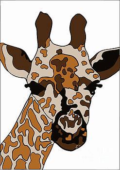 Giraffe by Karen Elzinga