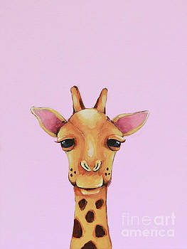 Giraffe by Lucia Stewart
