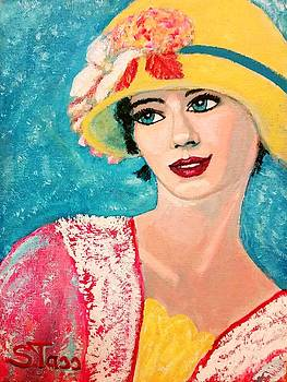 Girl from the twenties by Sylvia Tass