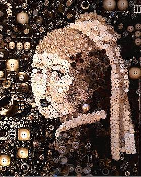 Girl with a Pearl earing by Jennifer  Blenkinsopp