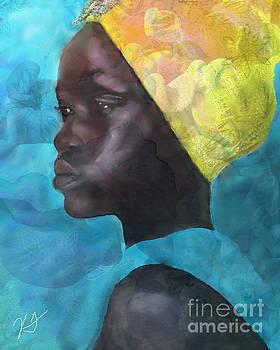 Girl With The Yellow Turban by Vannetta Ferguson