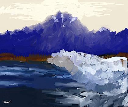 Glacier by Robert Bissett