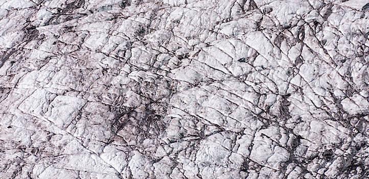Glacier with Cracks by Marv Vandehey