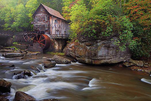 Glade Creek Grist Mill by Dennis Sprinkle