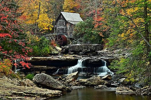 Frozen in Time Fine Art Photography - Glade Creek Grist Mill