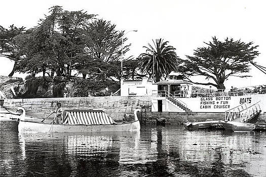 California Views Archives Mr Pat Hathaway Archives - Glass Botton Boat by Pier Lovers Point,  P. G. 1972