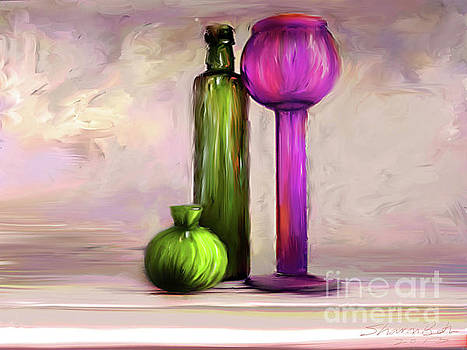 Glass on Glass by Sharon Beth