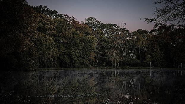 Glassy Morning Pond 20181102 by Philip A Swiderski Jr