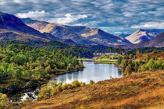 Glen Affric approaching Winter by John Frid