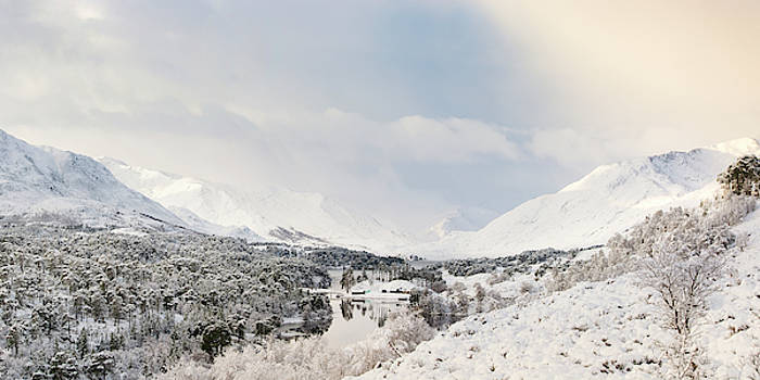 Veli Bariskan - Glen Affric Winter Panorama