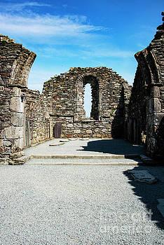 Bob Phillips - Glendalough Cathedral Interior Ruins