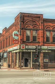 Globe News Superior Wisconsin Old Building by Nikki Vig