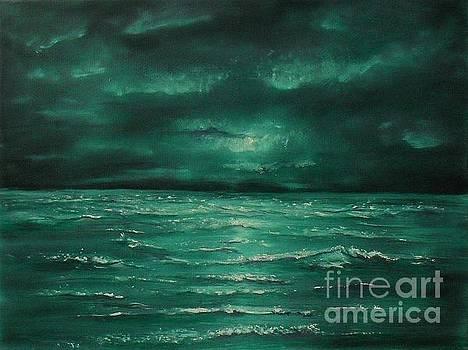 Gloom at Sea by Lia Van Elffenbrinck