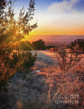 Glorious New Mexico Sunset by Susan Warren