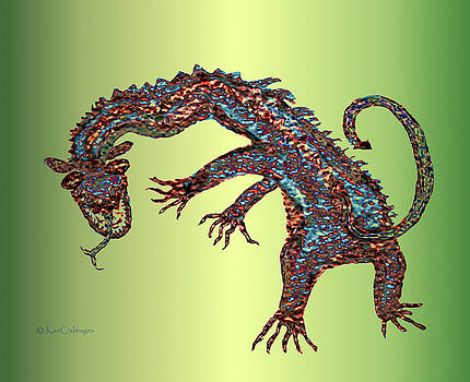 Kae Cheatham - Gnarled Beast Dragon 2