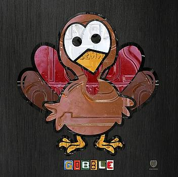 Gobble Wall Art by David Bowman