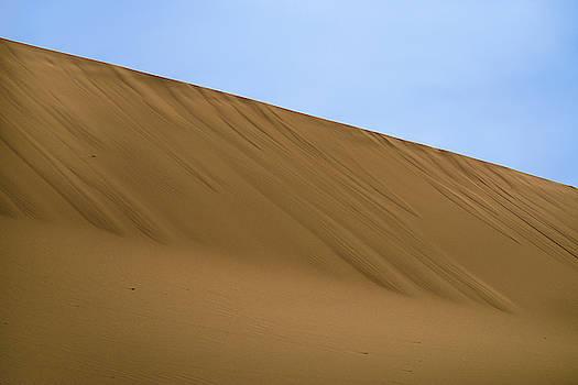 Gobi Desert Abstract Dunhuang Gansu China by Adam Rainoff