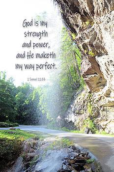 God is my strength  by Savannah Gibbs