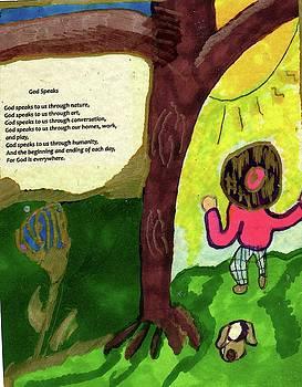 God Speaks by Elinor Helen Rakowski