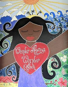 Goddess of Wonder by Angela Yarber