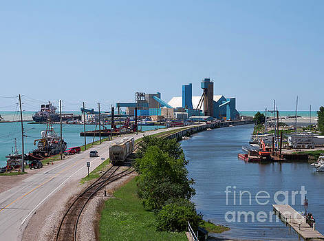 Goderich Harbour and Maitland Valley Marina by Louise Heusinkveld