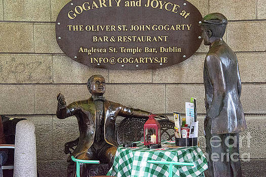 Bob Phillips - Gogarty and Joyce Statues One
