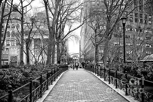 John Rizzuto - Going for a Walk in Union Square Park New York City