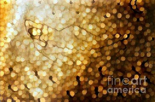 Gold shimmer sleeping beauty  by Sabela Carlos