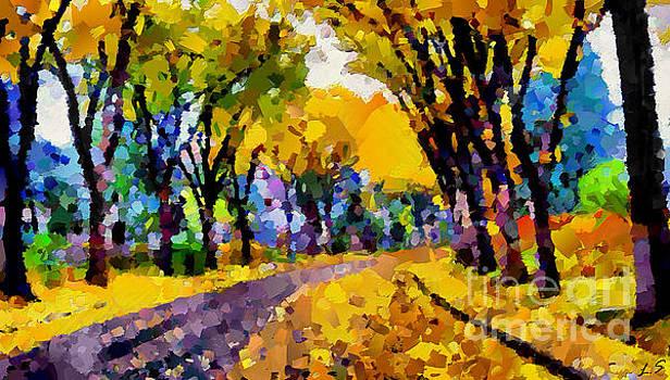Golden autumn by Sergey Lukashin