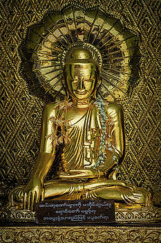 Golden Buddha by Chris Lord