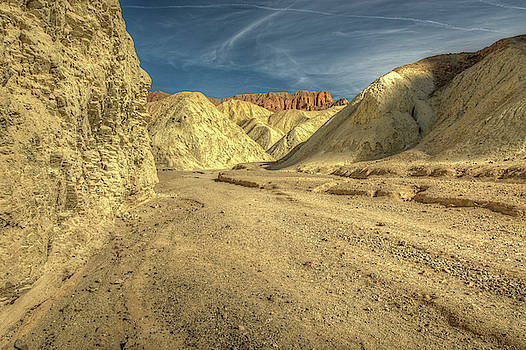 Golden Canyon in Death Valley National Park by Constance Puttkemery
